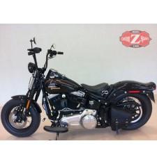 Alforja de basculante para Springer Harley Davidson mod, POLUX Básica Específica