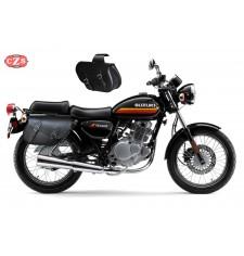 Juego de Alforjas para Suzuki TU250X mod, ALHAMA Básica - Adaptables