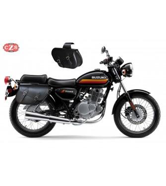Juego de Alforjas para Suzuki TU 250X mod, ALHAMA Básica - Adaptables