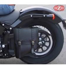 Alforja de basculante para Softail Harley Davidson mod,  TERCIO Básica Específica - IZQUIERDO