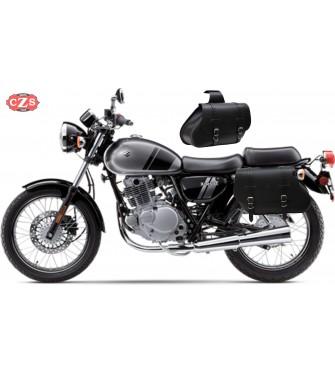 Juego de Alforjas para Suzuki TU250X  mod, COMANDO Básicas - Adaptables