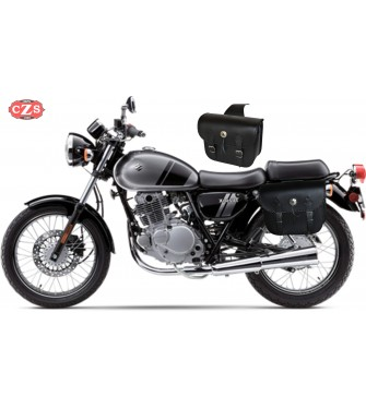 Alforjas para Suzuki TU250X mod, RIFLE Celtic Adaptables