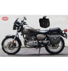 Juego de Alforjas para  Suzuki TU250X mod, TEBAS Básicas - Adaptables