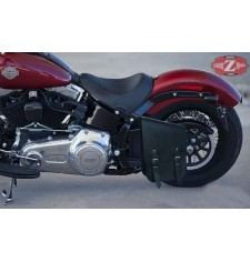 Sacoche pour faire basculer pour Softail Harley Davidson mod, TEMIS Basique - adaptable -