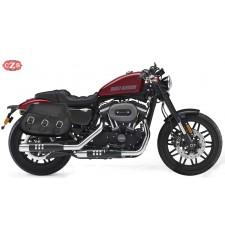 Alforjas para Harley Davidson Sportster 883  mod, PIZARRO Básica - Específicas