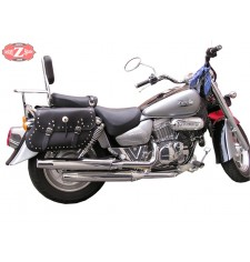 Saddlebags for Hyosung Aquila 250 mod, TORELO Classic Deluxe Adaptable