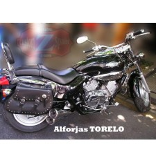 Alforjas para Kymco Venox 125 mod, TORELO Clásica Deluxe Adaptables