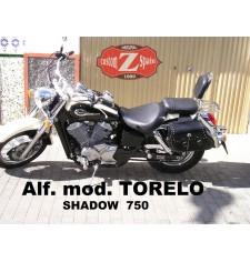 Alforjas para Honda Shadow 750 mod, TORELO Clásica Deluxe Adaptables