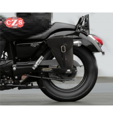 Alforja para Macbor Rokster Flat 125 mod, PISTOLA Adaptable - IZQUIERDA
