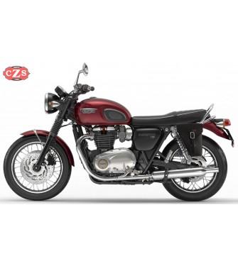 Alforja para Triumph Bonneville T100 mod, PISTOLA Adaptable - IZQUIERDA