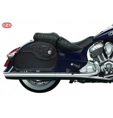 Sacoches Rigide pour Indian® Chief® Classic mod, NAPOLEON - Gothique -