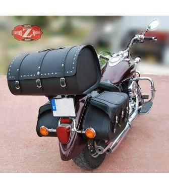MOTORRAD BRAUN LEDER WERKZEUGTASCHE TASCHE YAMAHA XVS 950 1300 00 MIDNIGHT STAR