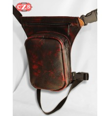 Leg bag PETACA - Red Old Rat