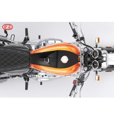 Corbata - Panel de depósito con bolsillo para Royal Enfield Interceptor GT 650 - Específico