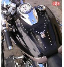 Panneau moto en cuir pour Yamaha Drag-Star y V-Star mod, ITALICO Classique