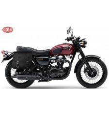 Alforja para Kawasaki W800-W650 mod, MULACEN - Específica con hueco Asas - DERECHA