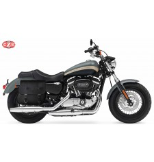 Alforja para Sportster Harley Davidson mod, MULACEN - Hueco Amortiguador - Específica - DERECHA