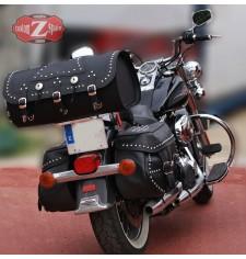 Baúl Custom Rígido para Harley Davidson Heritage mod, DOSCAS Clásico Deluxe Específico