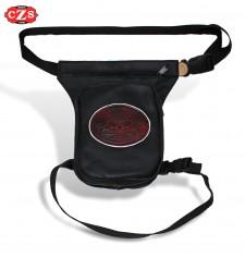 Leg Bag PETACA -  Warm Skull Red Vintage