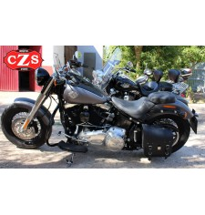 Alforja para Softail Harley Davidson mod, NÁPOLES - Izquierda
