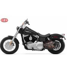 Alforja de basculante para Dyna - Harley Davidson - mod, LEGION - Vintage