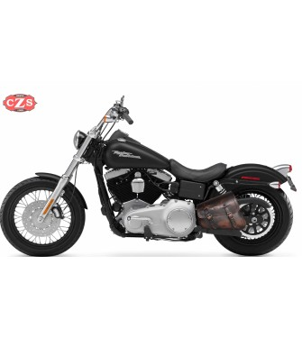 Alforja de basculante para Softail - Harley Davidson - mod, LEGION Vintage