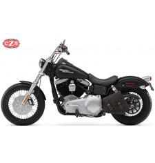 Sacoche de bras oscillant pour Dyna - Harley Davidson - mod, LEGION - Old-rat