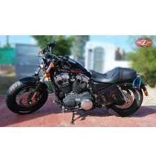 Alforja para basculante para Sportster Harley Davidson mod, LEGION - Vintage