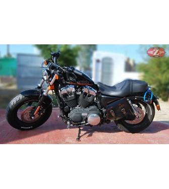 Alforja para basculante para Sportster Harley Davidson mod, LEGION Vintage