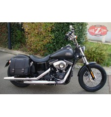 Alforja para Dyna Harley Davidson mod, ULISES Básica - Específica - DERECHA
