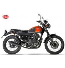 Cafe Racer MARBELLA Saddlebag for Mash Motorcycles - Black