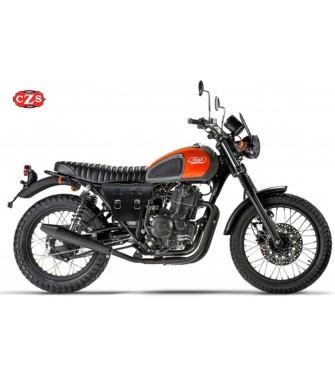 Alforja Cafe Racer MARBELLA para motos Mash - Negro