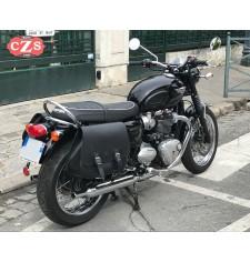 Set de sacoches pour Triumph Bonneville T100 Mod, SCIPION - Basique - système KLICKFIX -