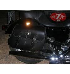 Saddlebags for Sportster Harley Davidson mod, TORELO Celtic Adaptable