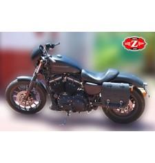 Alforja para Sportster Harley Davidson mod, BANDO Básica - Hueco amortiguador - IZQUIERDA