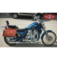 Saddlebags for Suzuki Intruder 800 mor, TORELO Basic - Light Brown - Adaptable