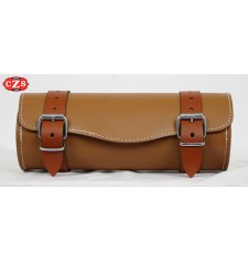 Tool bag Custom Basique - Chameau/Brun Clair - 29 cm x 11Ø -
