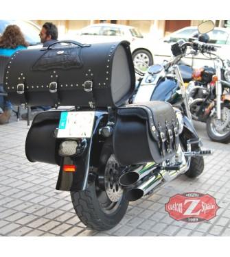Baúl Custom Rigido DOSCAS Coco Negro Clasico