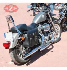 Alforjas para Sportster Harley Davidson mod, APACHE Básica Adaptables