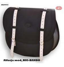 Sacoche latérale mod, BIG BANDO Basique UNIVERSEL - Bicolore B/N -