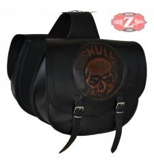 Set di borse laterali mod, SPARTA - Skull CZ - UNIVERSAL