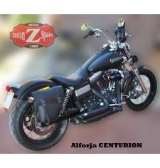 Alforja para Dyna Street Bob Harley Davidson mod, CENTURION Específica - DERECHA