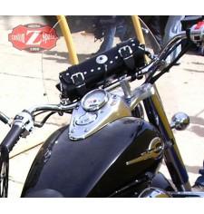 Tool bag Custom Classique 1 concho pour - Honda Shadow 750 -