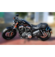Alforja para basculante para Sportster 883/1200 Harley Davidson mod, LEGION - IZQUIERDA