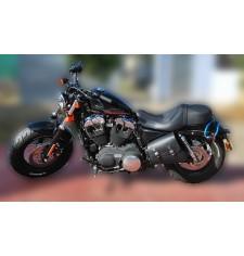Sacoche à bras oscillant pour Sportster 883/1200 Harley Davidson mod, LEGION - GAUCHE