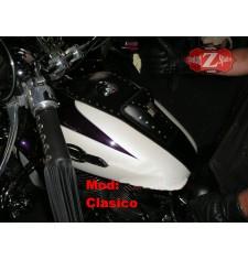 Corbata depósito para Honda Shadow mod, HADES Clásico