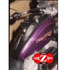 Panneau moto en cuir pour Sportster Harley Davidson mod, HADES Classique