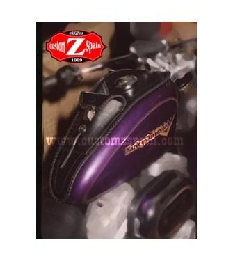 Corbata Deposito para Sportsters Harley Davidson mod, HADES Clasico