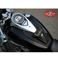 Panneau moto en cuir pour Kawasaki Vulcan 900 mod, ITALICO Classique - Tribal -