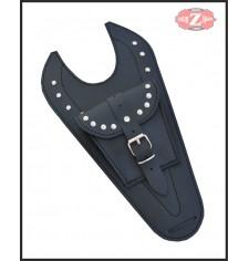Panneau moto en cuir pour Suzuki Intruder 250 mod, ITALICO petit - Classique